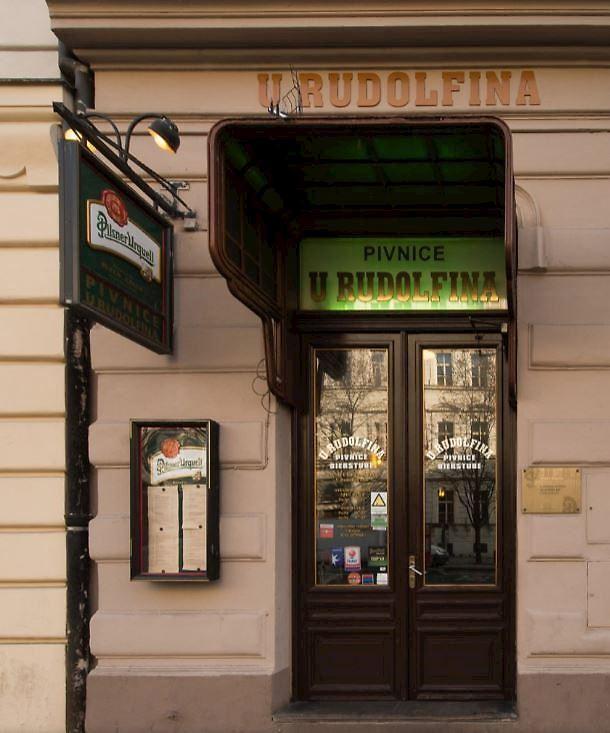 Pivnice U Rudolfina Praha 1