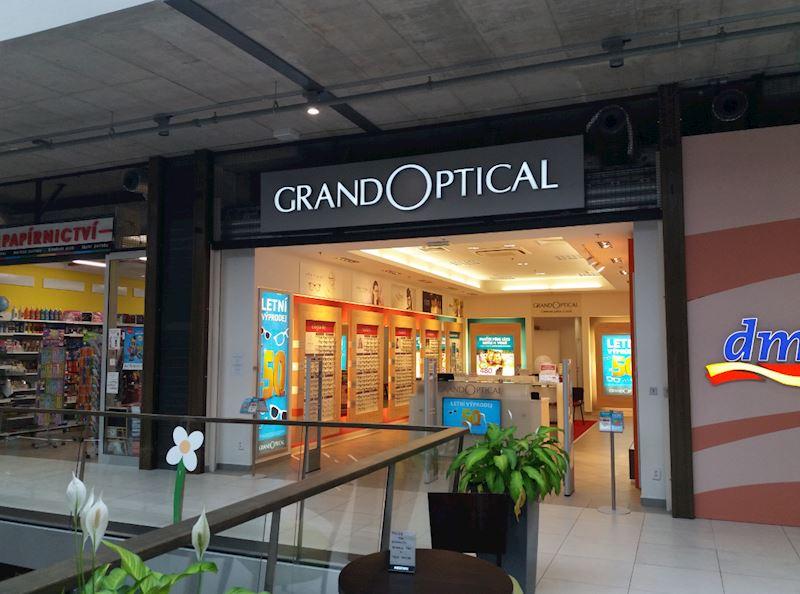 Prodejna GrandOptical Pivovar Děčín