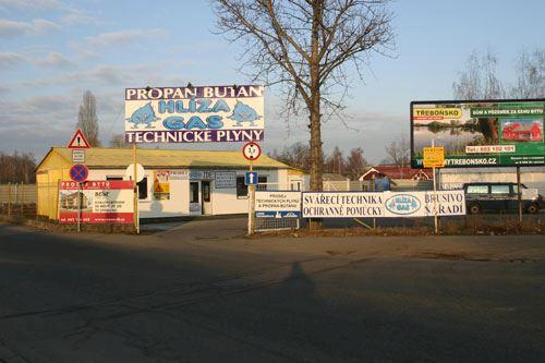 HLÍZA GAS - PROPAN-BUTAN - TECHNICKÉ PLYNY - fotografie 2/8