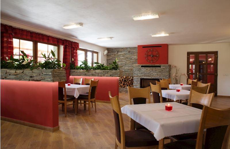Restaurace a penzion Lutena - interiér
