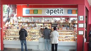 Samoobslužná restaurace, lahůdky, cukrárna a kavárna Apetit