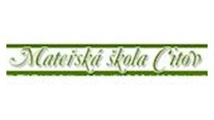 Mateřská škola Citov, příspěvková organizace