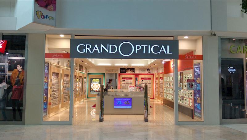 Prodejna GrandOptical Metropole Zličín
