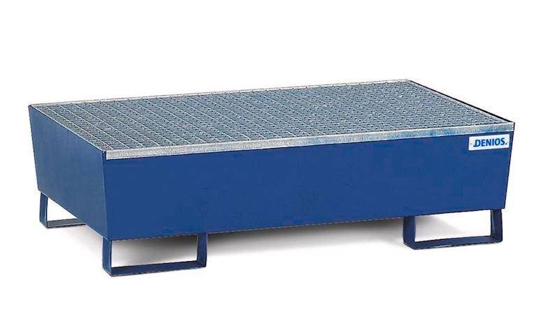 Lakovaná záchytná vana z oceli pro 2 sudy à 200 l