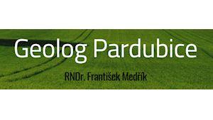 Medřík František RNDr. – geolog Pardubice, geologické práce