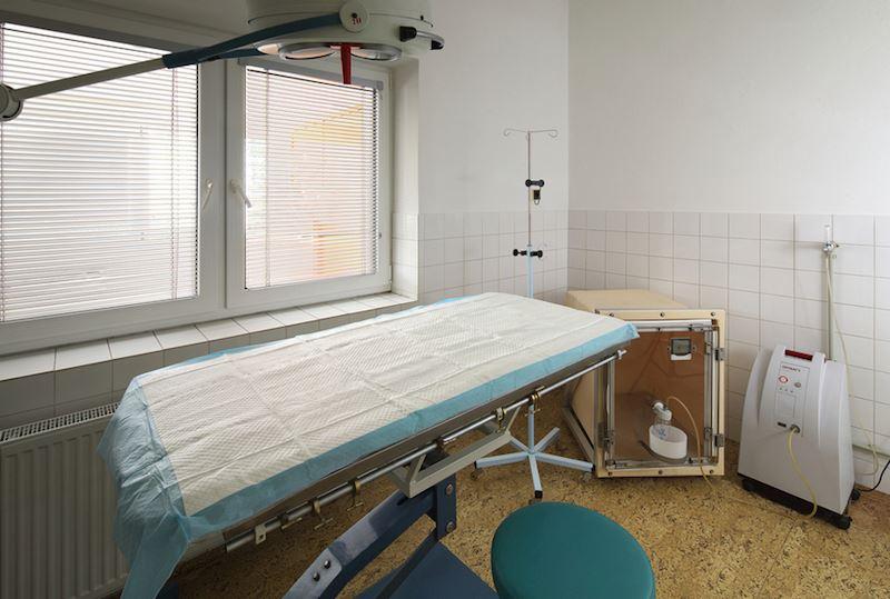 Operační sál malý, septický - pro ambulantní zákroky