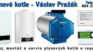 Václav Pražák - Plynové kotle