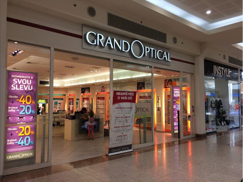 Prodejna GrandOptical Olomouc City