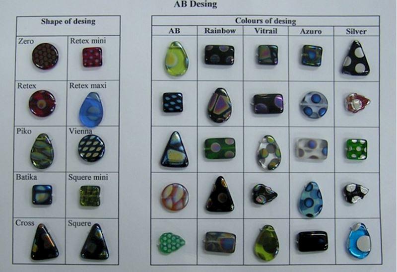 Perlové dekory - AB design