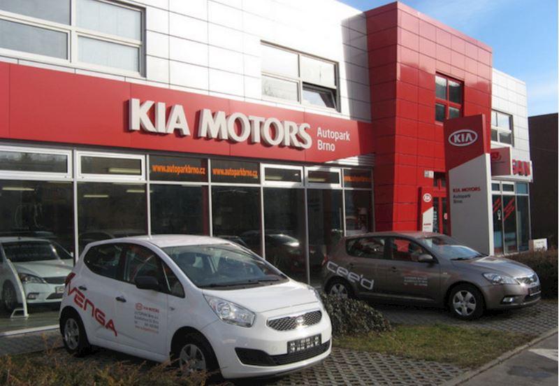 AUTOPARK BRNO a.s. - prodej a servis vozů KIA a NISSAN - fotografie 1/10