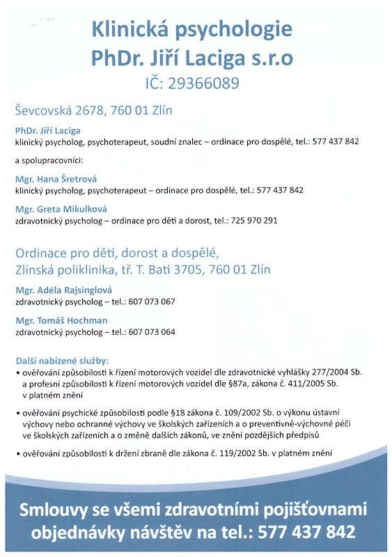 PhDr. Jiří Laciga - fotografie 3/3
