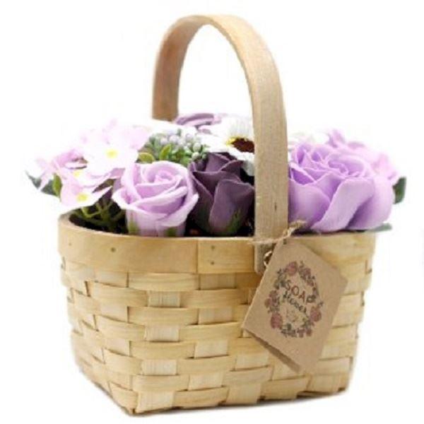 Mádlové květy v košíčku
