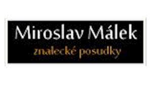 Miroslav Málek - znalecké posudky