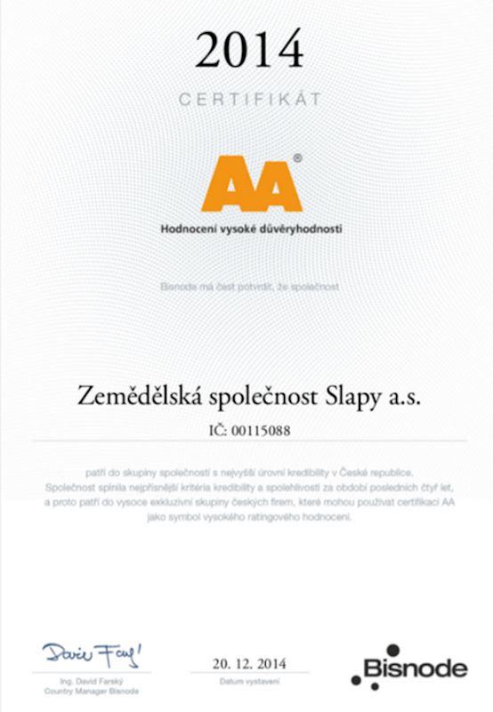 Zemědělská společnost Slapy a.s. - fotografie 6/6