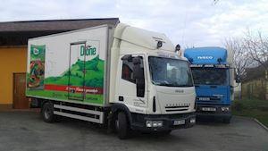 Autodoprava - mražených a chlazených potravin a zboží