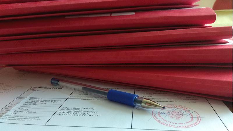 Kolaudace a dokumentace ke stavebnímu řízení