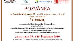 Mezinárodní mistrovství žáků oboru čalouník