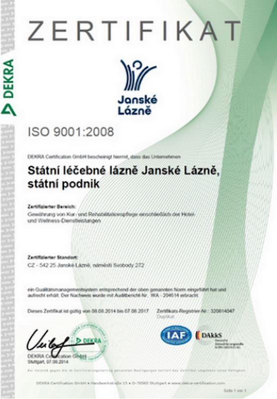 Státní léčebné lázně Janské Lázně, s.p. - fotografie 22/24
