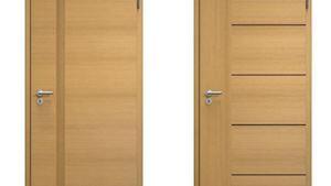 Dřevěné (dýhované) dveře