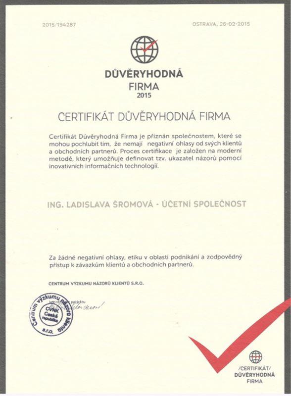 Účetní společnost - Šromová Ladislava Ing. - fotografie 6/6