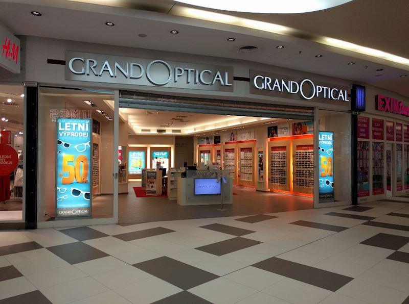 Prodejna GrandOptical Galerie Butovice