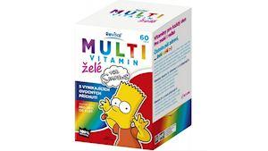 The Simpsons Multivitamin želé 60 ks