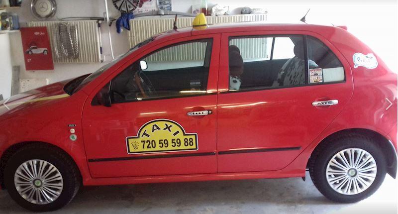 taxi Chropyně