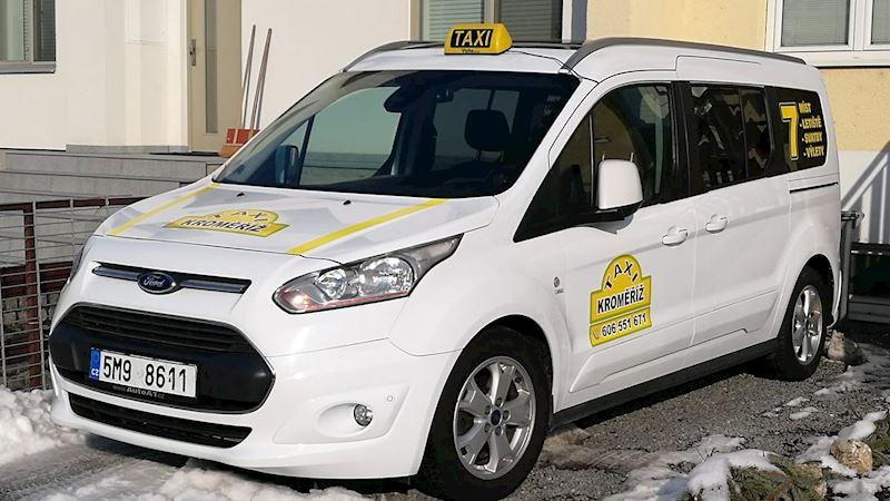 7 místné taxi Kroměříž