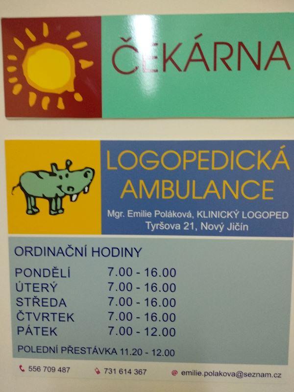 Logopedická ambulance - Mgr. Emilie Poláková - fotografie 3/8