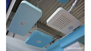 Sádrokartonové stropy s oblým rohem