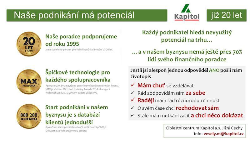 Hypotéční centrum Kapitol Jindřichův Hradec - Arnošt Vratislav - fotografie 8/10