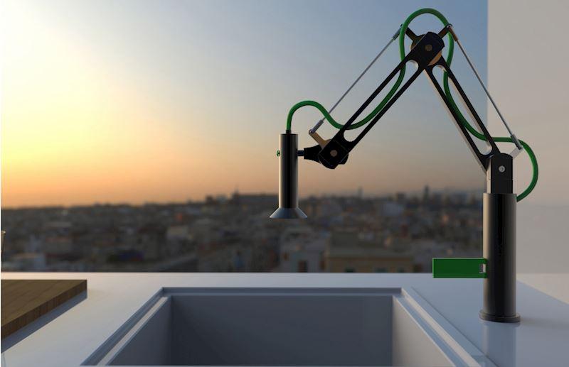 Robotická dřezová baterie