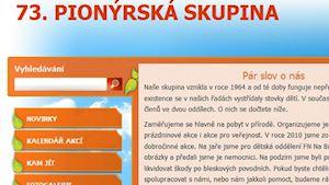 Pionýr, z. s. - 73. pionýrská skupina Vodovod