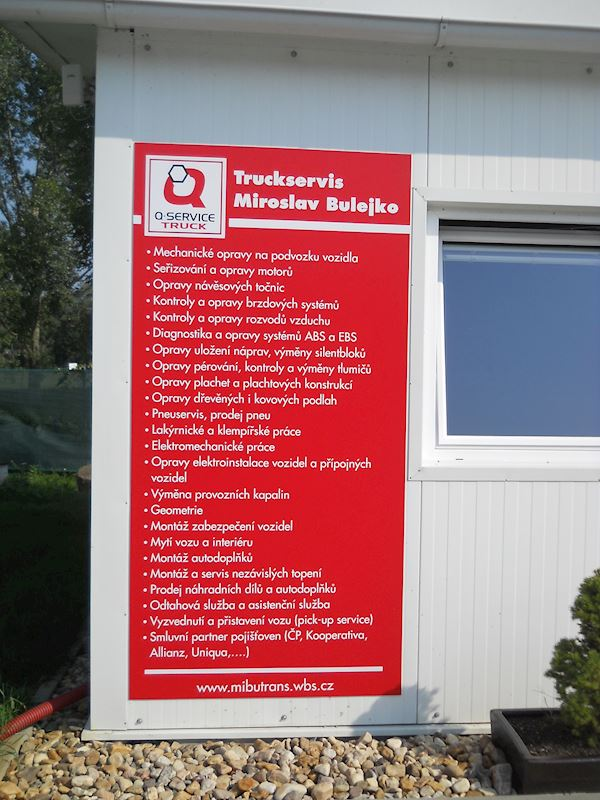 Q-SERVICE TRUCK Truck servis Miroslav Bulejko - fotografie 5/5