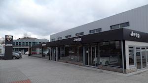 Showroom Jeep AF Centrum