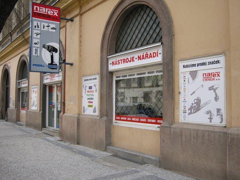 Prodejna Narex Praha 8
