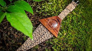 Dřevěné hodinky Lucerna