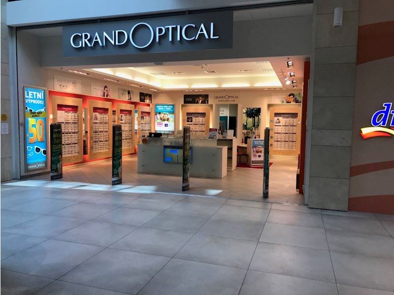 Prodejna GrandOptical Galerie Šantovka