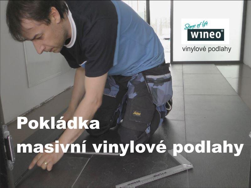Jak se pokládala masivní vinylové podlaha na podložku