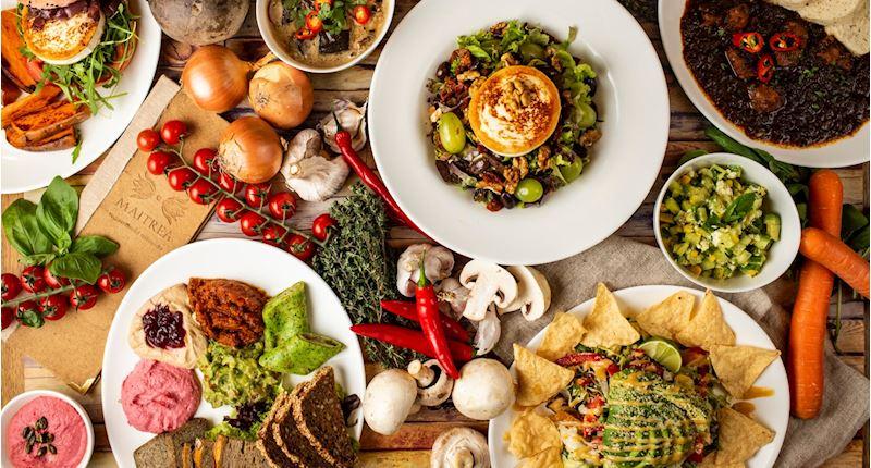 Restaurace Maitrea - vegetariánská restaurace - fotografie 10/15