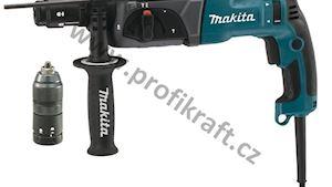 AKCE MAKITA: Kladivo vrtací a sekací 2,4J 780W HR2470T+ výměnné sklíčidlo