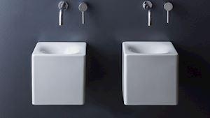 umyvadlo: cube / design: massimiliano braconi