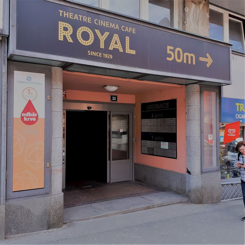 Zubní laboratoř Praha 2 - vchod