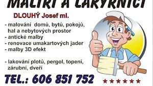 MALÍŘI A LAKÝRNÍCI - Dlouhý Josef ml., Hodinový Manžel, Slaný, Kladno
