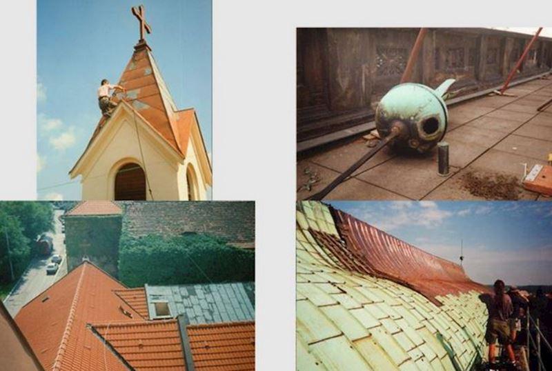 Hromosvody, klempířské a pokrývačské práce   ARCHA sdružení řemesel - fotografie 1/17
