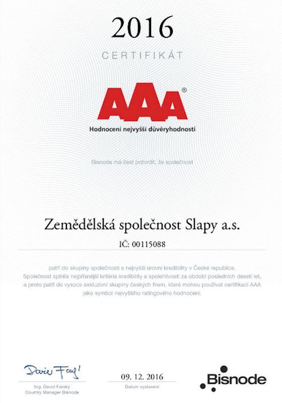 ZEMĚDĚLSKÁ SPOLEČNOST SLAPY a.s. - fotografie 4/6