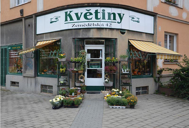 PRODEJNA: Zemědělská 286/42, Brno