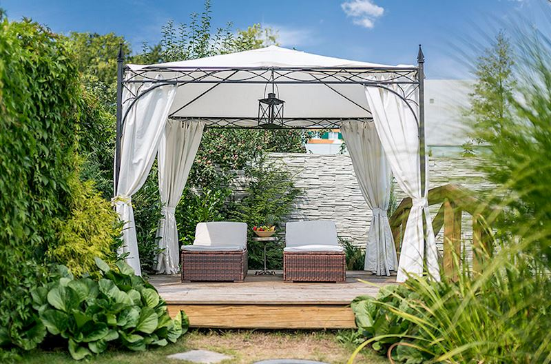 Wellness centrum Luxury Island Spa – venkovní relaxace