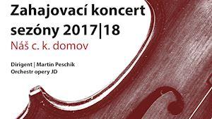 Zahajovací koncert otevře novou sezónu 17/18
